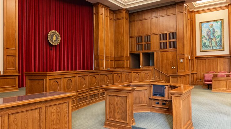 Inside Court Room Picture